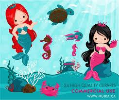 25 mermaid clipart ideas rgb pink pretty