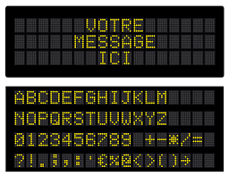 led display free vector graphic