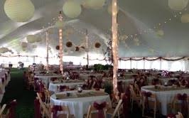 wedding tablecloth rentals tent rental american rentals inc wedding rentals michigan