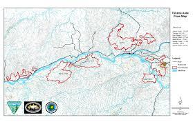 Idaho Fires Map Tanana Area Fire Updates July 7 Ak Fire Info