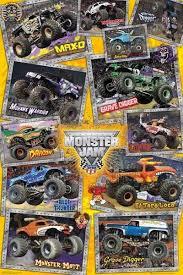 grave digger monster truck poster monster jam trucks poster 61x91cm new grave digger mutt max d