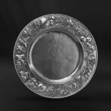 pewter platter pewter plates dishes and platters italian pewter tableware