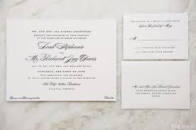 Wedding Invitations Atlanta Richard And Leah Ritz Carlton Buckhead Atlanta Wedding