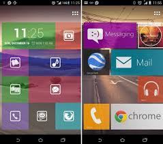 best launcher for android phones tile launcher is the best windows phone 8 like home screen app for