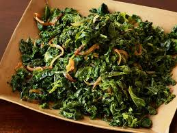 hearty winter greens saute recipe the neelys food network