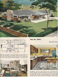 Mid Century Modern Ranch House Plans 146 Best Vintage Interiors Images On Pinterest Architecture