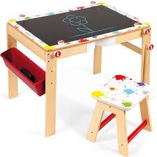 bureau pour bébé bureau tableau noir splash janod bebe cadeau ch