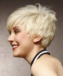 front view of side swept hairstyles short straight alternative asymmetrical hairstyle with side swept