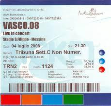 vasco bologna biglietti vasco 08 live in concert