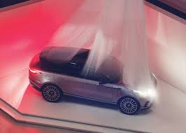 pink range rover premiere new range rover velar unveiled at the design museum london