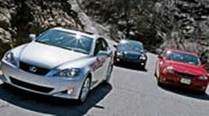 audi a4 vs lexus is350 2006 bmw 330i vs 2006 lexus is 350 vs 2006 mercedes c350