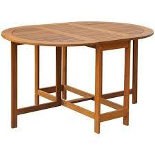 tavolo ovale legno tavolo ovale per esterni pieghevole in legno di acacia