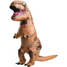 party city halloween stores jurassic world inflatable t rex costume buycostumes com