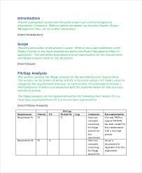 gap analysis template 9 free word excel pdf document
