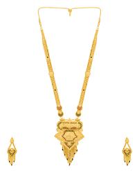 gold rani haar sets buy rani haar gold plated necklace set online india voylla