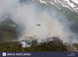 Fires Near Alaska by An Alaska Army National Guard Uh 60 Black Hawk Helicopter From 1st