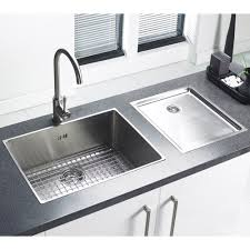Stainless Steel Sink With Drainboard  Triple Bowl Stainless - Kitchen sinks with drainboards
