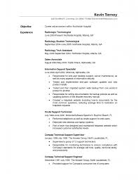 Nuclear Medicine Technologist Resume Examples by Resume Radiologic Technologist Resume