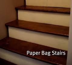 basement stairs flooring