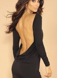 backless dress black dress classic backless dress ustrendy
