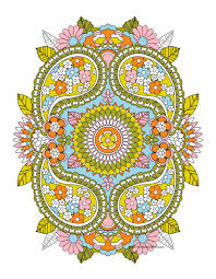 dont eat the paste april showers mandala coloring page throughout