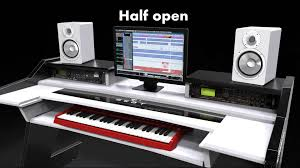 Music Studio Desk Workstation by Beat Studio Desk Power Is In Your Hand Youtube