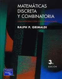 matematicas discreta y combinatoria ralph p grimaldi amazon com