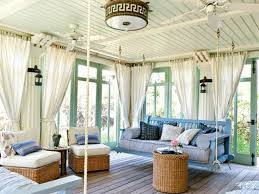 White Outdoor Curtain Panels Cottage Porch With Screened Porch U0026 French Doors Zillow Digs