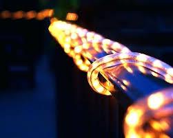 Outdoor Rope Lighting Ideas Outdoor Rope Lighting Ideas Solar Rope Led String Lights Outdoor
