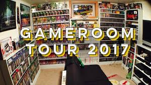 game room tour 2017 youtube