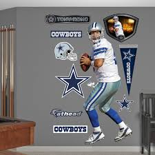 Dallas Cowboys Home Decor Amazon Com Nfl Dallas Cowboys Jason Witten Away Wall Graphics Tony