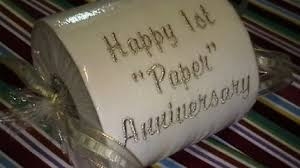 paper anniversary gift ideas novelty toilet paper gift ideas