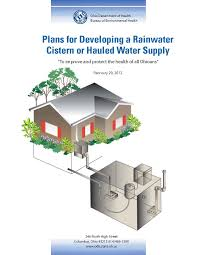 rainwater water cistern tanks plans for developing a