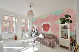 pastel colored rooms beautiful ideas summer indoors wall murals