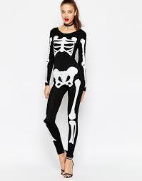 Skeleton Jumpsuit Asos Tall Asos Tall Halloween Glow In The Dark Skeleton Unitard