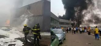 fireplace reportedly destroys federal airports authority of