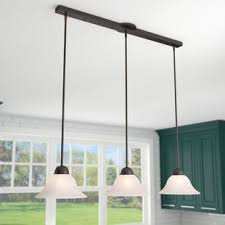 lights for island kitchen kitchen island lighting you ll wayfair