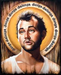 Murray Meme - bill murray as a religious icon neatorama