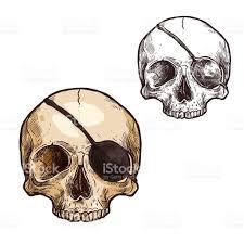 halloween vector sketch icon skull skeleton stock vector art