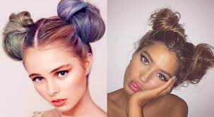 different hairstyles in buns double bun hairstyles 2017 childish and flirty hairstyles