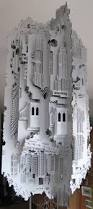 Ingrid Siliakus Jocundist Incredible Pop Up Cities Cut From Single Sheet Of Paper