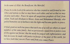 facing islam westminster praises allah acknowledges