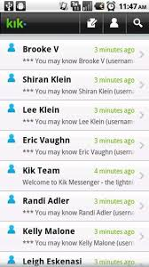 kik app android top 5 android messengers to