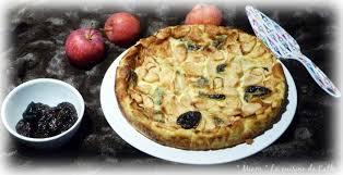 cuisiner les pruneaux ღ miam flognarde aux pommes et aux pruneaux miam la