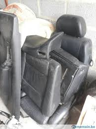 siege cuir golf 4 intérieur cuir noir chauffant pour golf 4 cabriolet a vendre