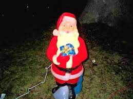 outdoor plastic lighted santa claus plastic christmas yard decorations classy design backyard santa