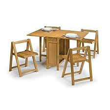 drop leaf table with folding chairs stored inside drop leaf table with folding chairs stored inside brilliant for and