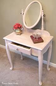 Pink Vanity Table Pink Vanity Monthly Diy Challenge Canary Street Crafts