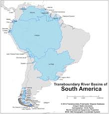 Columbia Map South America by Maps And Images Gallery Water Conflict Management And