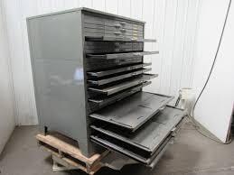 Map Cabinet Blueprint File Cabinet Flat File Cabinet Solid Wood Safco 5